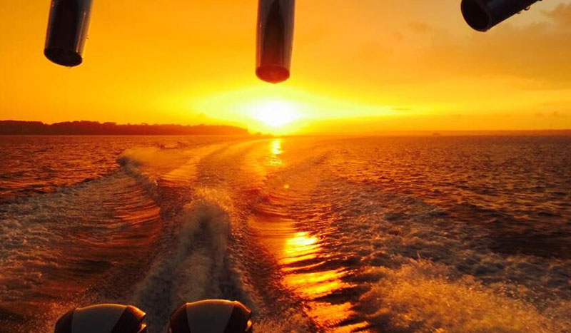 h2o-sports-hilton-head-boat-charters-sunset